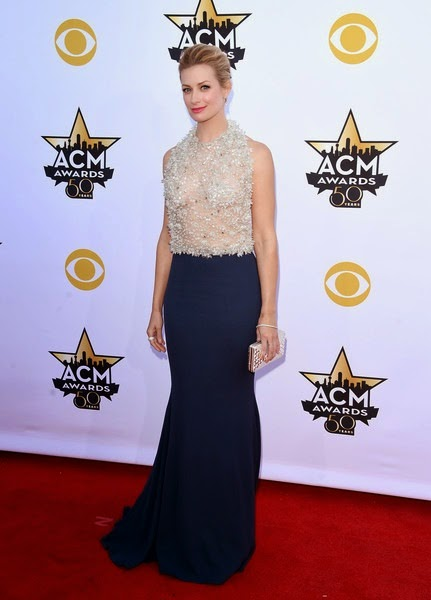 Beth Behrs attends the 50th Academy Of Country Music Awards