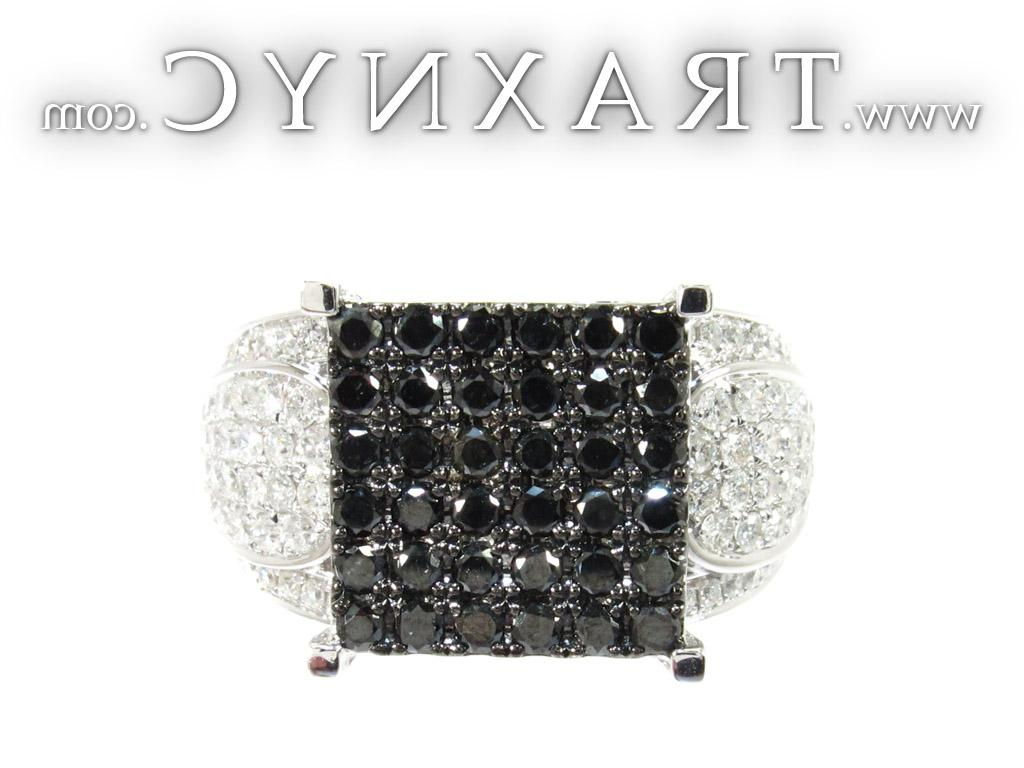 Diamond Square Ring 25431