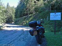 Vom Col St. Roch (990 m) zum Col de Turini (1607 m).