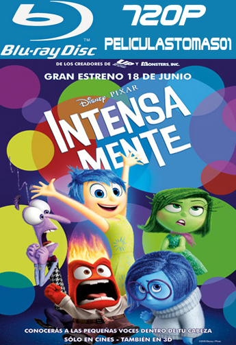 Intensa Mente (Inside Out) (2015) [BRRip 720p/Dual Latino-ingles]