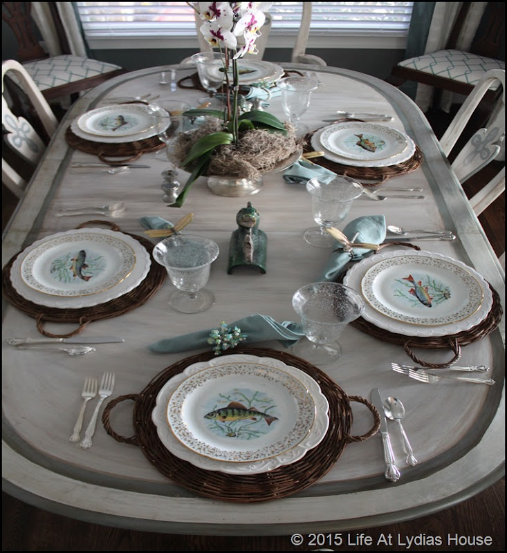 Limoges fish plates tabelscape 3