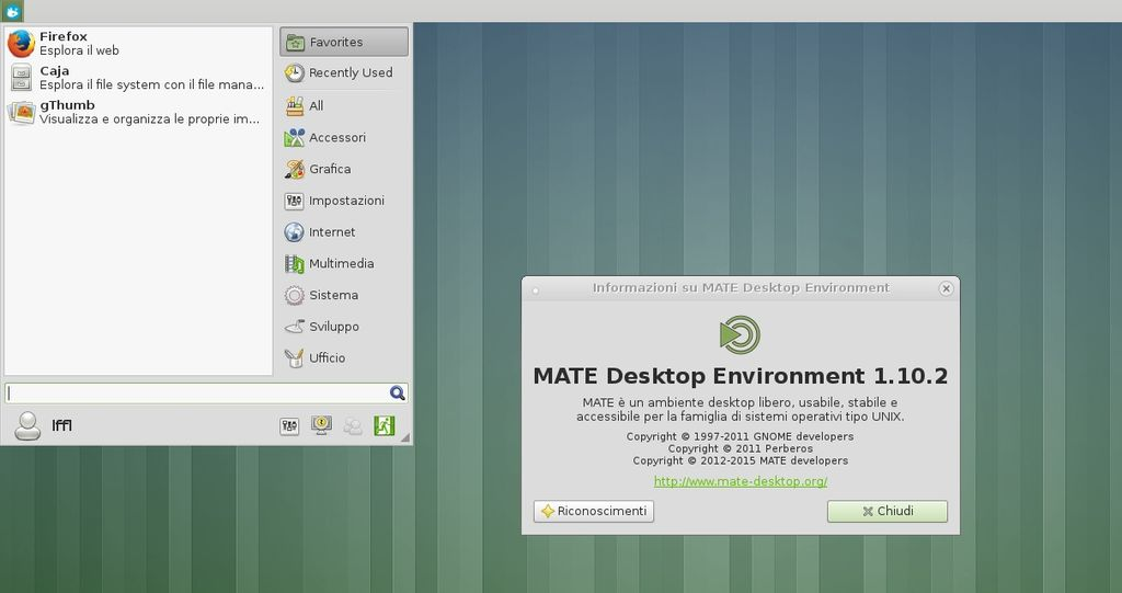 MATE Xfce4 panel plugin loader