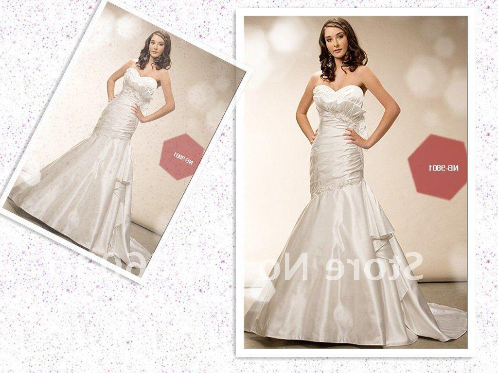 Wholesale Rich Color A line Fashion Simple Wedding Gown