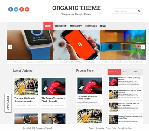 organic-template
