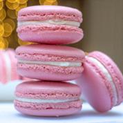 Italian meringue macaron recpienotext