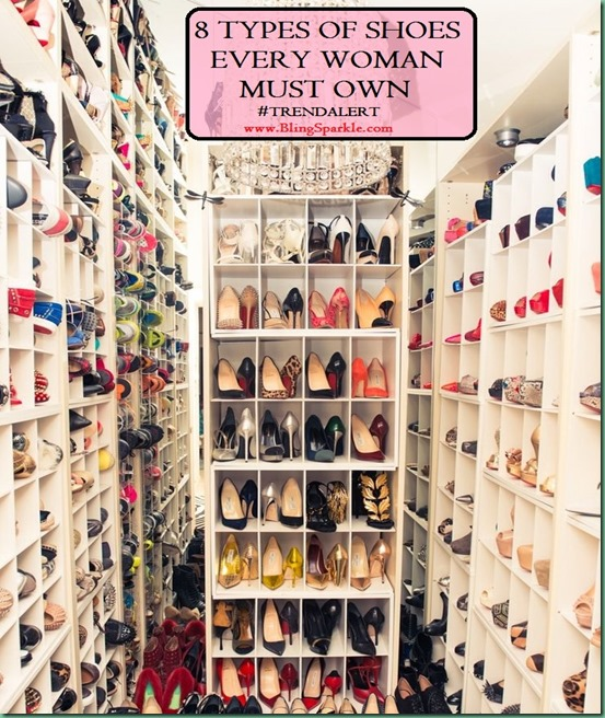 8 types of shoes every woman must own
