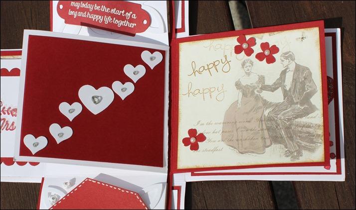 Explosion Box Love Wedding Hochzeit Cake 011