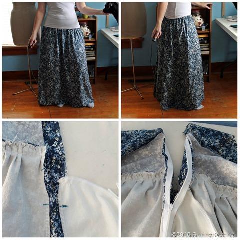 collage challenge 1 old skirt 2
