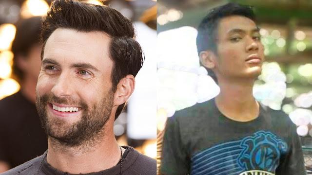 Orang Indonesia mirip Adam Levine
