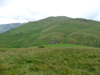 Common Fell from the summit of Round How.