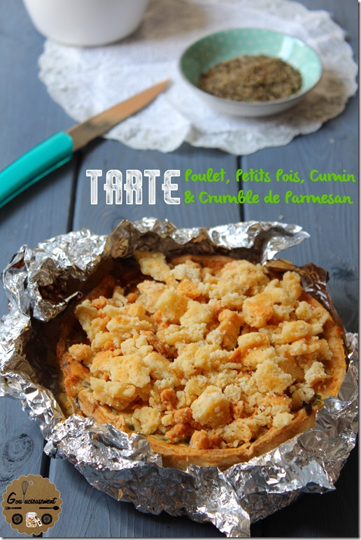 Tarte Poulet, Petits Pois, Cumin & Crumble de Parmesan 14