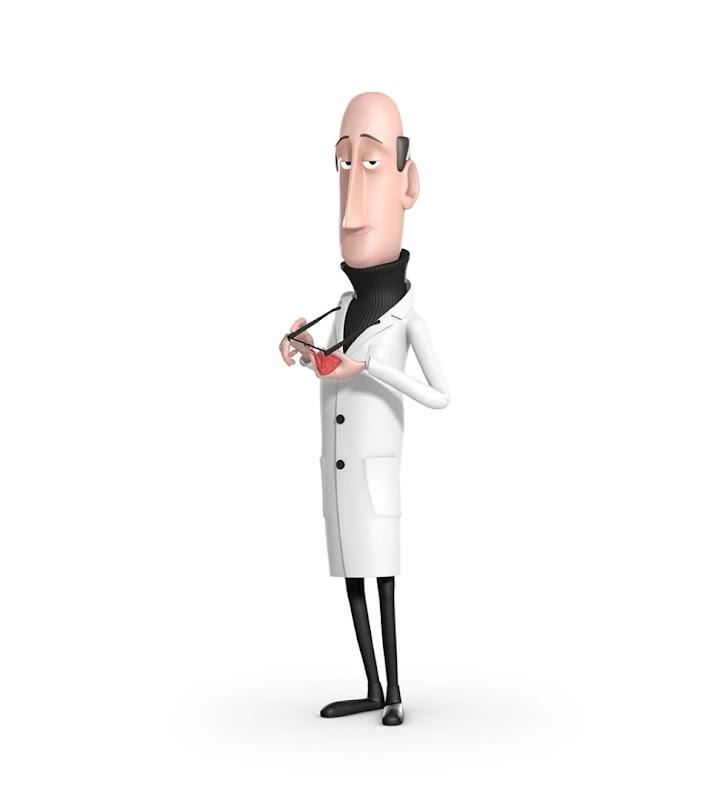 Профессор - персонаж Tooned 2013