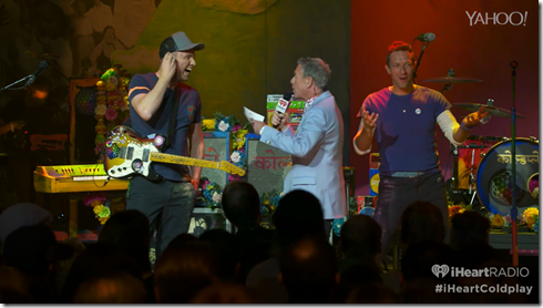 Coldplay iHeartRadio A Head Full Of Dreams album release party-3