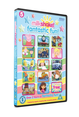 Milkshake! Fantastic Fun! DVD Review