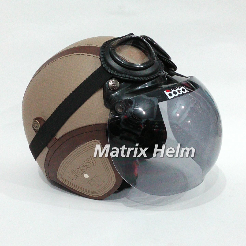 Helm Bogo Retro Vespa Krem Cam6 Daftar Harga Terkini Terlengkap Fino Mrc Grey Doff 085708308785 Toko Lengkap Jual