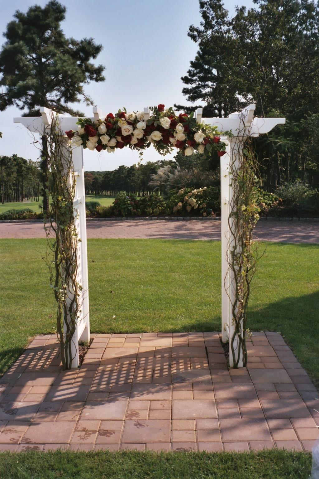linh 39 s blog wedding archway hot pink