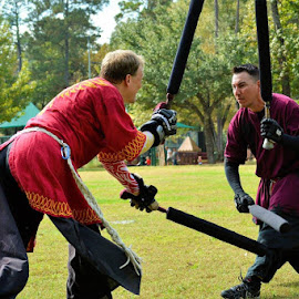 Mirror Image by D'Arcy Evans - Sports & Fitness Other Sports ( amtgard, action, foamfighting, duel, larp )