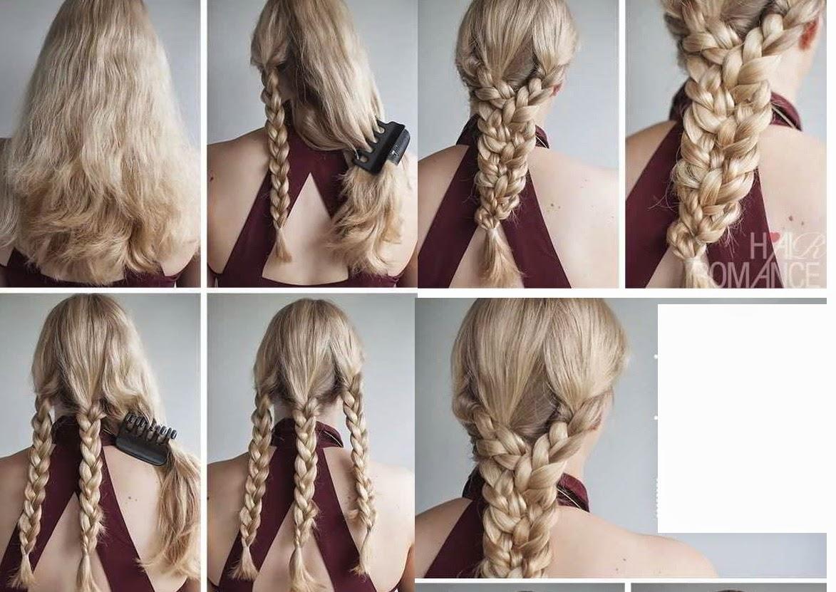 10 Peinados fáciles explicados paso a paso Megalindas