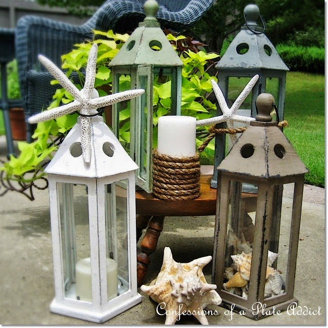 CONFESSIONS OF A PLATE ADDICT Summery Seaside Lanterns