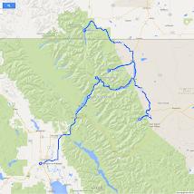 10 Roadtrip West VS en Canada 2014, Kalispell naar Waterton Lakes.png