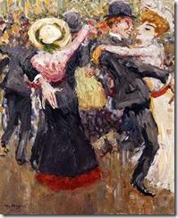 van Dongen, en el moulin de la galette, 1904