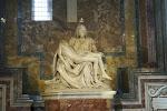 Endlich sahen wir Michelangelos Pieta