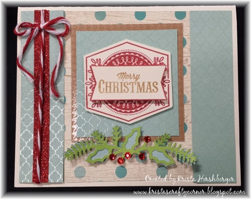 Framed_Aug SOTM_Christmas_fundamentals_card