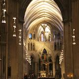In de Nidaros-kathedraal in Trondheim.