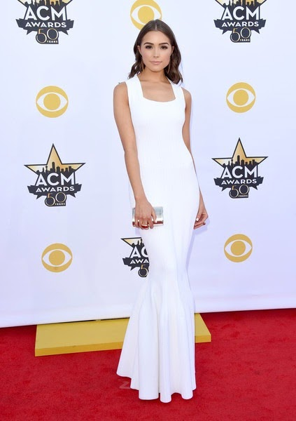 Olivia Culpo attends the 50th Academy Of Country Music Awards
