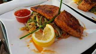 Atlantic Pan Seared Salmon