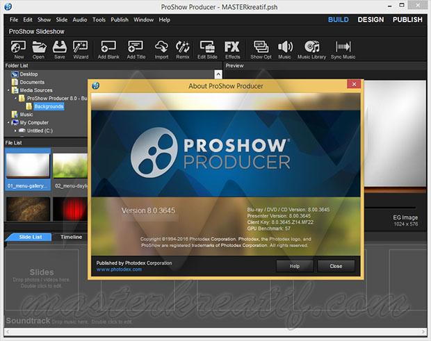 Kết quả hình ảnh cho Photodex ProShow 8