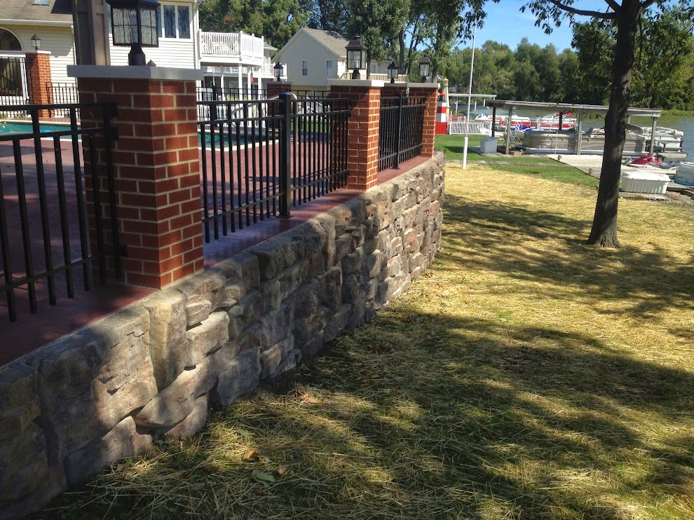 toledo area retaining wall systems
