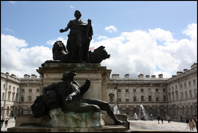 King George III statue Somerset House