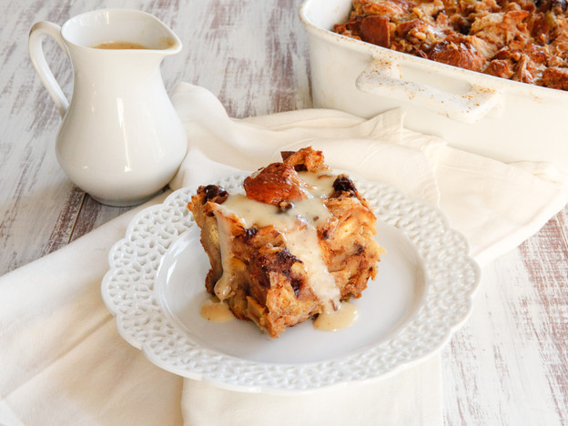 Challah Bread Pudding with Kahlua Cream Sauce Recipe | Yummly