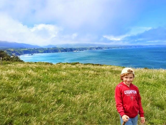 #Asturias con niños: Senda del Cabo Busto