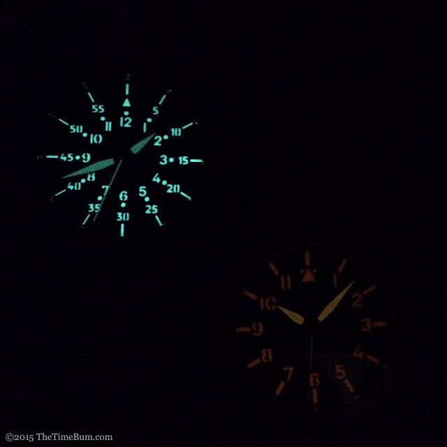 Ventus Black Kite and Caspian Vintage Lume Comparison