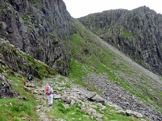 The Climbers Traverse with Bowfell Buttress