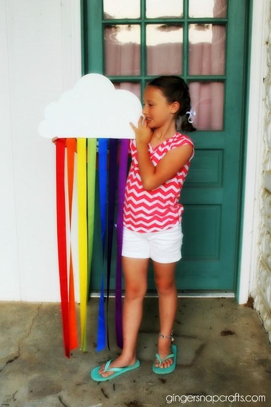 rainbow #craft