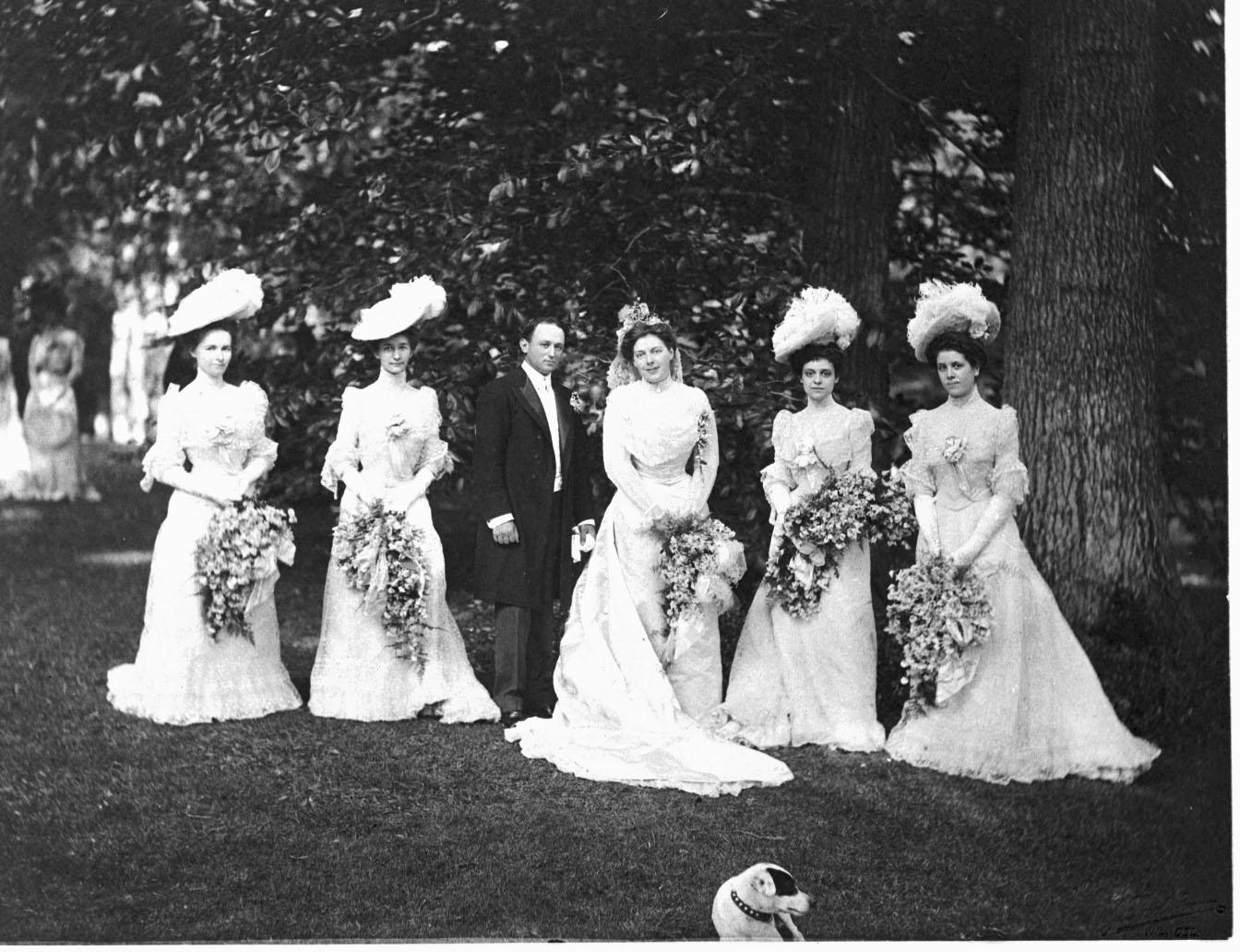 The First Wedding at
