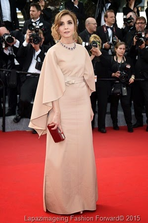 Clotilde Courau in Valention Haute Couture