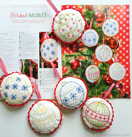 Stitched Baubles Published