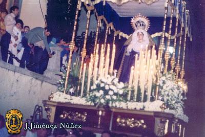 María Stma. del Amparo - Años 80 - J.Jiménez Núñez