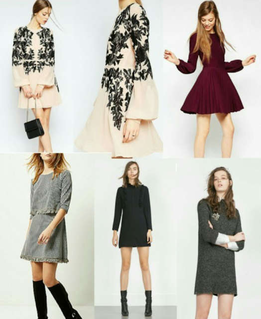 And finally all the pretty dresses..the dressy casual ones ..Top left..ok  more dressy than casual this asos cream and black dress is divine ..dress  down ... - Pamslivelovefashion: Dressy Casual Or Just Dressy.. You Decide!