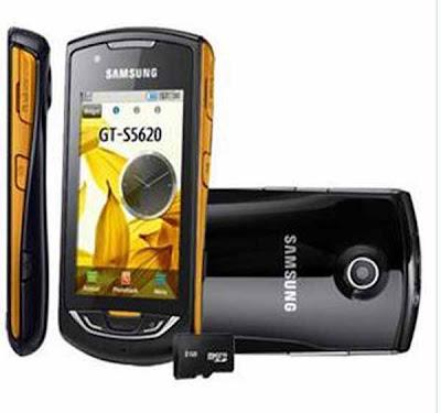 Celular Desbloqueado Samsung S5620 Star 3G Touch c/ Câmera 3.2MP, GPS, MP3 Player, Rádio FM, Wireless, Bluetooth e Cartão 2GB - Samsung
