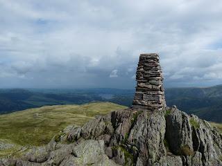 Place Fell Summit Trig Pillar