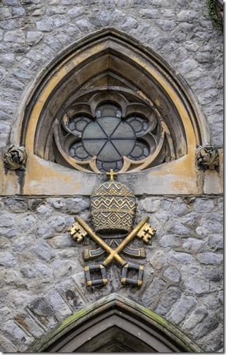 lt - Church window in Canterbury