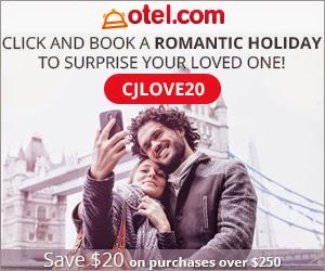 Otel.com最新訂酒店優惠碼,可享低至8折優惠,有效期至2月14日。