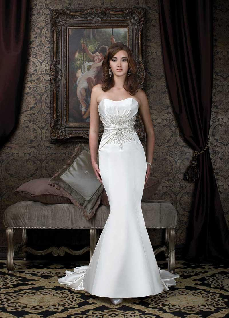 mermaid wedding dresses with