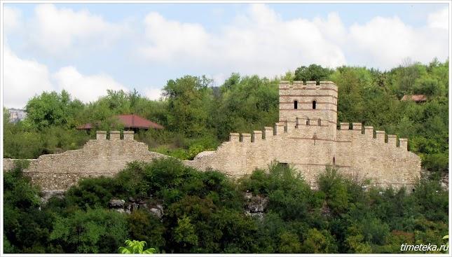 Крепость на холме Трапезица. Велико Тырново