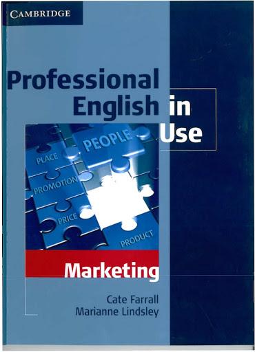 Cambridge: Professional English in Use - Marketing